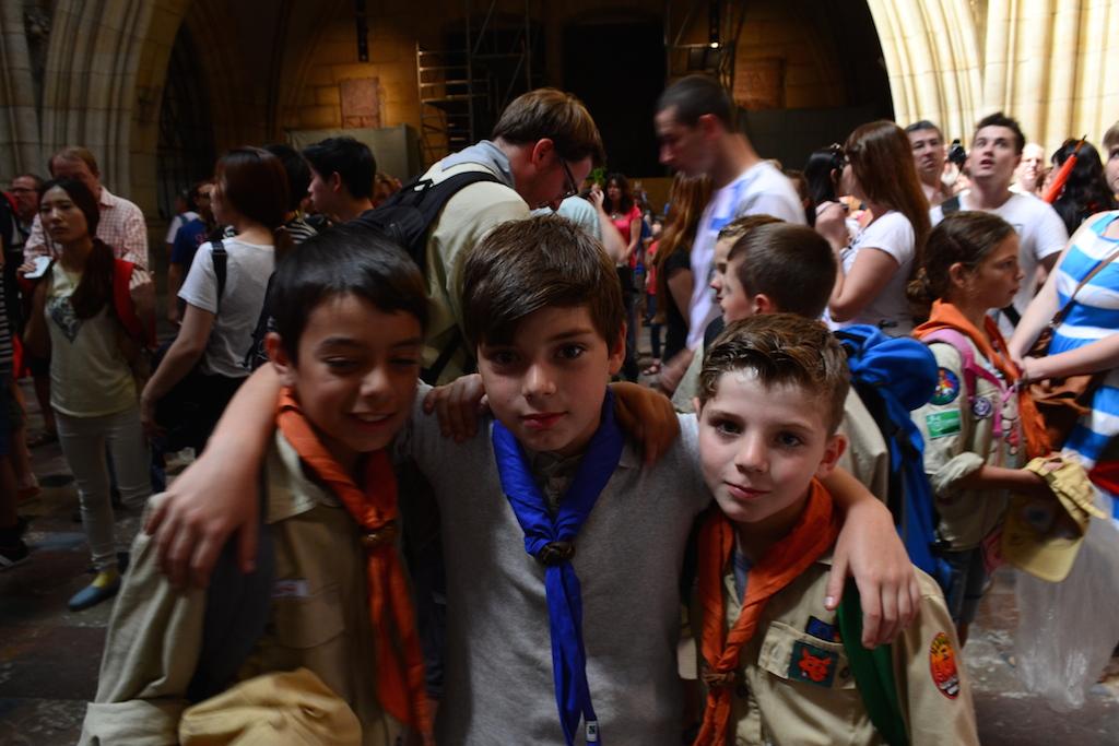 Semihan, Luca und Miro